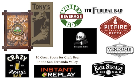 10 Great Places to Drink Craft Beer in the San Fernando Valley